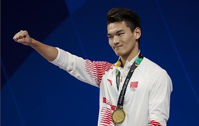 Китайский пловец Сюй Цзяюй побил мировой рекорд Колесникова на 100-метровке на спине