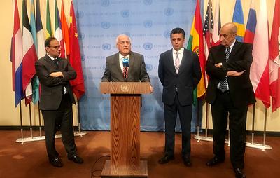 В Палестине заявили, что  продолжат обращаться в Совбез ООН для защиты своих граждан