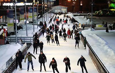 Каток в Парке Горького в Москве откроется для горожан 22 ноября