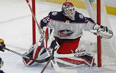"""Хоккеисты """"Коламбуса"""" Панарин и Бобровский не сыграют против """"Флориды"""" в матче НХЛ"""