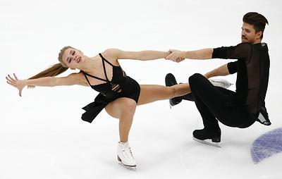 Степанова и Букин установили рекорд в произвольном танце на Гран-при в России