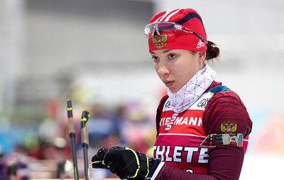 Кайшева была включена в состав сборной России по биатлону на этапы КМ решением главы СБР