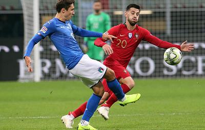 Сборная Португалии сыграла вничью с итальянцами и вышла в финальную стадию Лиги наций