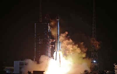 Китай вывел на орбиту два спутника навигационной системы Beidou