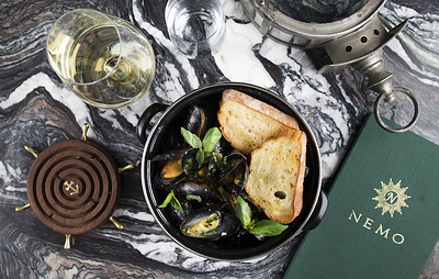 В Москве открылся новый ресторан NEMO seafood restaurant