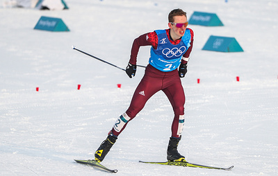 Российский лыжник Спицов завоевал бронзу в индивидуальной гонке на этапе КМ в Лиллехаммере