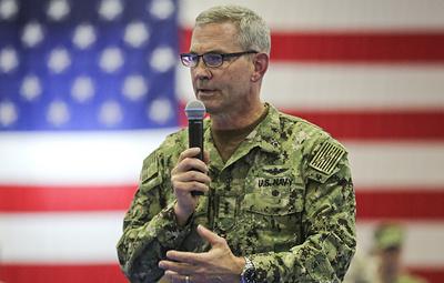 ВМС США сообщили о смерти командующего Пятым флотом на Бахрейне