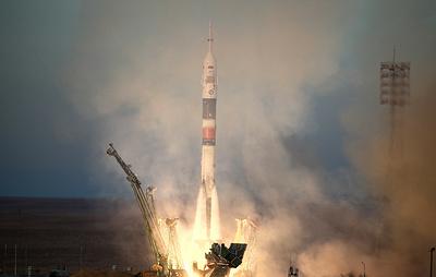 """Ракета-носитель """"Союз-ФГ"""" стартовала с первой стартовой площадки Байконура"""