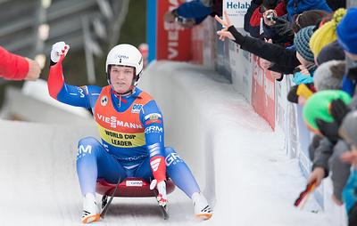 Саночник Репилов стал вторым на этапе Кубка мира в Канаде
