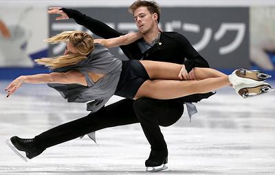 Россияне Синицина и Кацалапов стали вторыми в финале Гран-при в танцах на льду