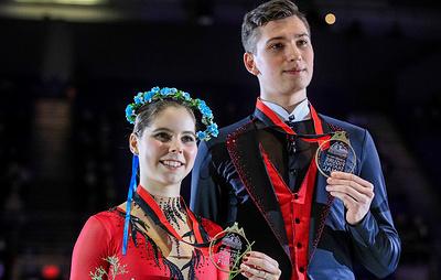 Третье место после короткого проката придало мотивации фигуристам Мишиной и Галлямову