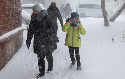 В Кургане из-за морозов отменили занятия у учеников начальных классов