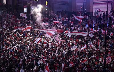 СМИ: около 20 болельщиков задержаны в Буэнос-Айресе после финала Кубка Либертадорес