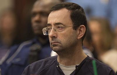 СМИ: один из руководителей НОК США Эшли отправлен в отставку за бездействие в деле Нассара