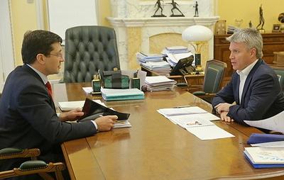 """Нижегородская область получит около 1 млрд рублей на проект """"Спорт - норма жизни"""""""