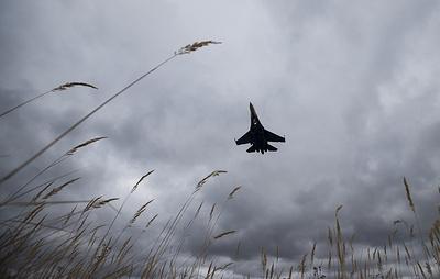 В Житомирской области Украины разбился самолет Су-27