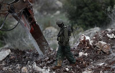 """Израиль нашел четвертый тоннель """"Хезболлах"""" в районе ливанской границы"""
