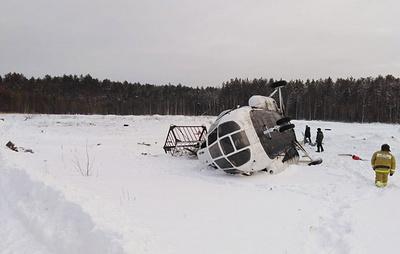 Число пострадавших при жесткой посадке Ми-8 в Томской области возросло до пяти человек