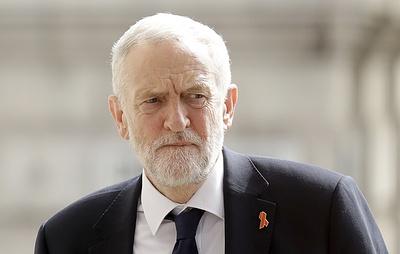 Sky: лидер британских лейбористов инициировал голосование по вотуму недоверия Терезе Мэй