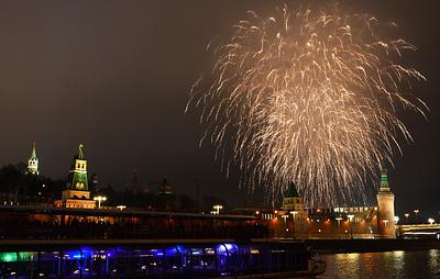 Новогодний салют в Москве запустят более чем с 30 площадок