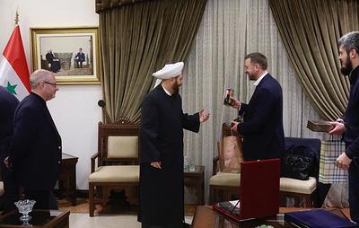 Муфтий Сирии предложил провести религиозный саммит в Москве для продвижения идеи мира