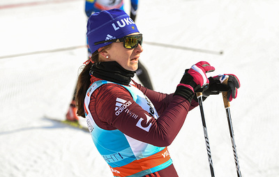 Российская лыжница Непряева стала второй в спринте на этапе Кубка мира в Эстонии