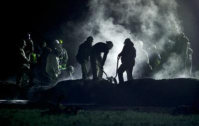 Число жертв взрыва и пожара на трубопроводе в Мексике возросло до 66