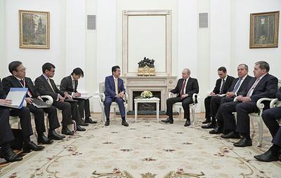 Путин: приоритетное внимание на переговорах с Абэ было уделено развитию торговых связей