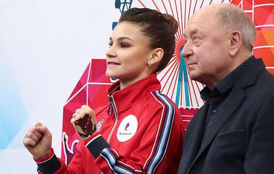 Мишин доволен выступлением Самодуровой в короткой программе на чемпионате Европы