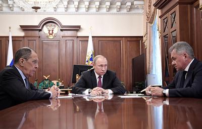 Путин поручил больше не инициировать переговоры по ДРСМД