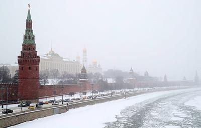 Желтый уровень погодной опасности объявлен в Москве 3 февраля