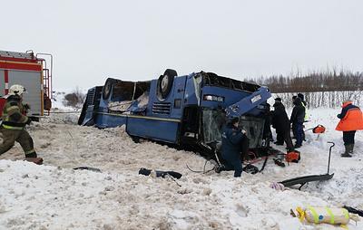 Число пострадавших в ДТП с автобусом под Калугой увеличилось до 21