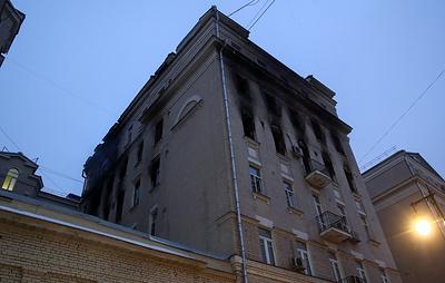 Часть жильцов дома на Никитском бульваре начали пускать в квартиры
