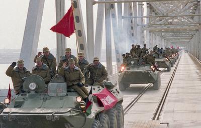 История участия СССР в афганском конфликте