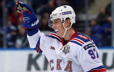 Хоккеист СКА Гусев побил рекорд КХЛ по числу передач за один регулярный сезон