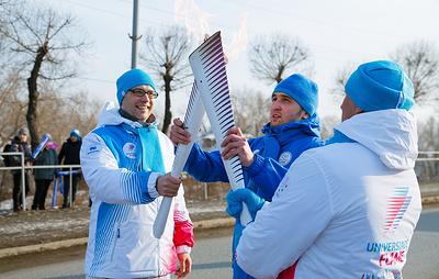 В Ачинске пройдет этап Эстафеты огня Зимней универсиады-2019
