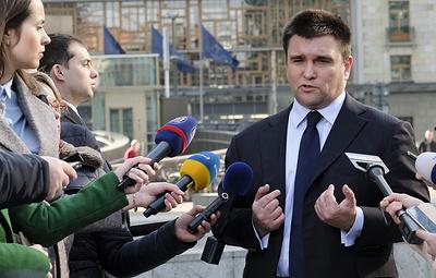 Климкин: Украина расторгнет договор с Россией по Азовскому морю в обозримой перспективе