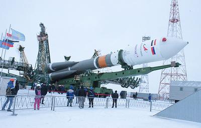 """Источник: ракета """"Союз-2.1б"""" с египетским спутником Egyptsat-A стартовала с Байконура"""