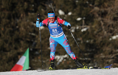 Юрлова-Перхт завоевала серебро в спринте на чемпионате Европы по биатлону в Минске