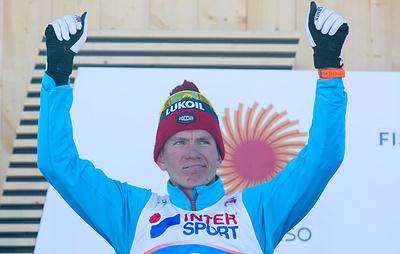 Лыжник Большунов разочарован серебром чемпионата мира в скиатлоне