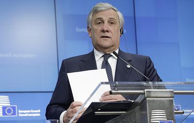 Глава Европарламента: Brexit может быть отложен максимум до 18 апреля