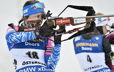 Российские биатлонистки сохранили максимальную квоту в КМ, став четвертыми в Кубке наций