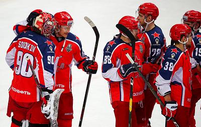 ЦСКА и СКА вновь сыграют в финале плей-офф Западной конференции КХЛ
