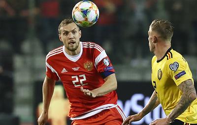 Дзюба: такие футболисты, как полузащитник сборной Бельгии Азар, делают результат