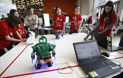 Школьники показали свои разработки на фестивале Profest в Москве