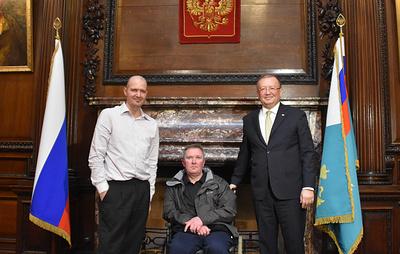 Посол России в Лондоне встретился с пострадавшим в Эймсбери британцем Чарльзом Роули