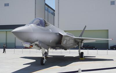 Впервые новейший истребитель-бомбардировщик F-35A был потерян в результате авиакатастрофы