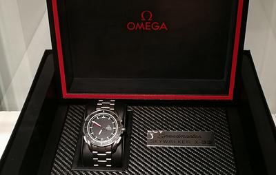 Прошедшие испытания на МКС часы Omega проданы на аукционе за €52 тыс.