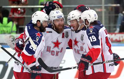 ЦСКА во второй раз выиграл золото чемпионата России по хоккею