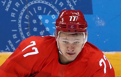 Капризов: победу в Кубке Гагарина нельзя сравнить с золотом Олимпиады